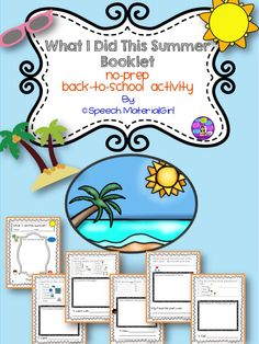 phrases free verbs for summer activities to target verbs in svo ...