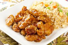 Chinese Recipe: Simple Orange Chicken I'm adapting this to use the Beyond Meat version of chicken.