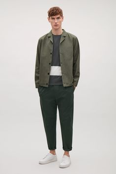 COS | Button-up canvas jacket