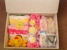 Baby Gift Set  Baby Shower Gift Set  Baby Gift  by LadyBugSouvenir
