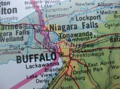 Map of Buffalo, NY Lake View, Home Sweet Home!