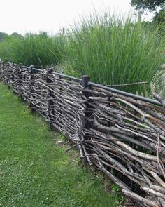 Stick fence 819x1024 Colorful Willow Fencing