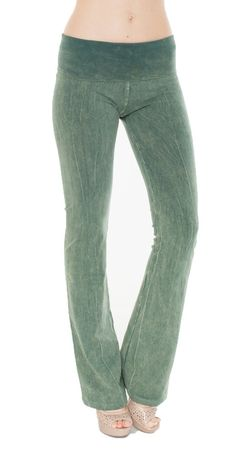 Amazon.com: T-Party Mineral Wash Yoga Pants: Clothing
