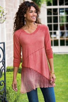 Silk Sienna Top from Soft Surroundings
