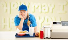 teenager working at a fast food restaurant Summer Jobs For Teens, Marketing Jobs, In High School, Life Skills, Good People, Cool Things To Make, Parenting, Restaurant, Teaching