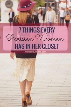 7 Things Every Parisian Woman Has in Her Closet - Midlife Boulevard
