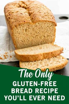 It's not only homemade, meaning you have complete control over the ingredients used, but this recipe also makes a loaf that stays together when sliced thin or thick. Almond Recipes, Gluten Free Recipes, Bread Recipes, Gluten Free Flatbread, Gluten Free Flour, Rosemary Bread, Homemade Sandwich, Pcos Diet, Good Health Tips
