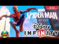 Disney Infinity 2 0 Spider Man Trailer Marvel Super Heroes