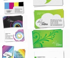 Design business cards vector
