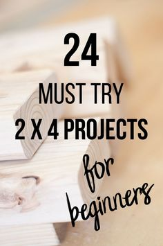 Wow! Love all these projects! If you are looking for easy and gorgeous 2x4 projects don't miss this! Great beginner woodworking projects using 2x4 structural lumber for indoor, outdoors and home decor. #AnikasDIYLife #woodworking #diy