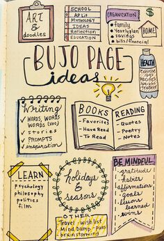 Bullet Journal page ideas #bulletjournaling #bujojunkies #bulletjournaljunkies #bulletjournalinspiration