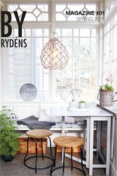 Nyheter våren 2016 - Scandinavian - Sunroom - Gothenburg - by By Rydéns Sunroom Office, Small Sunroom, Modern Conservatory, Home Design Decor, Home Office Design, House Design, Home Decor, Studio Design, Small Furniture