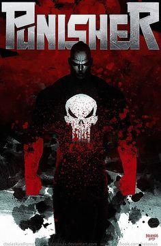 Punisher Inspiring Concept Art by Christopher Balaskas