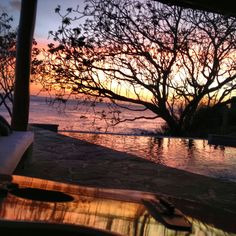 sunset at Rancho Santana, Nicaragua//cocktails on the veranda. Yes please! See you soon!