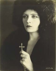 """Pola Negri in """"Woman from Moscow"""" c.1928"""