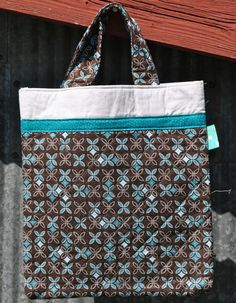 Teal and brown glittery tote bag by PolkaDotPouches on Etsy, $25.00 Small Tote Bags, Polka Dots, Pouch, Teal, Reusable Tote Bags, Trending Outfits, Unique Jewelry, Handmade Gifts, Brown