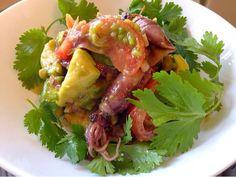 ホタルイカとアボカドのパクチーセビーチェはハバネロソースで美味しい : シカのレシピ萬覚帳