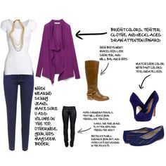 Outfit for pear shape