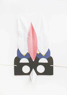 Ta.Ta. Unconventional Design For Kids: PAPER MASKS