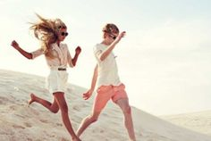 in modeling, a jumping picture is called a Lacoste ad