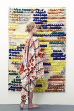 Collection printemps été 2016 // Miroir orange #mapoesie #scarf #foulard #miroir