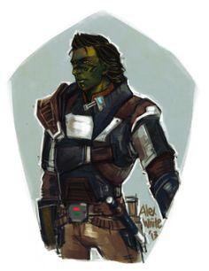 Mirialan smuggler - SWTOR