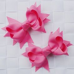 Crib Mattress, Barrette, Ribbon Bows, Hair Pins, Girl Hairstyles, Ornaments, Children, Girls, Baby