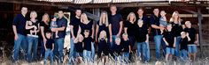 Large Family Portrait by Diane Conn Photography