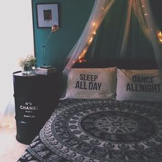 Perfect pillows for a chill room