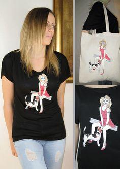 20% OFF TEE 'N' Tote pakka frá ALICE BRANDS etsy.com/shop/AliceBrands stores.ebay.co.uk/ALICE-BRANDS alicebrands.co.uk.