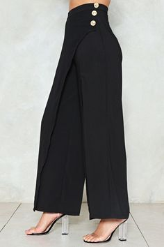 Wonderful Photo sewing pants palazzo Tips Fashion Pants, Hijab Fashion, Fashion Clothes, Fashion Outfits, Ladies Fashion, Korean Fashion, Fashion Jewelry, Fashion Tips, Wide Trousers