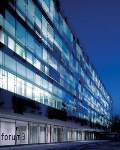 Novartis Campus Forum 3, Basel  - #architecture - ☮k☮