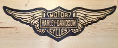 For me. Harley-Davidson wings logo.
