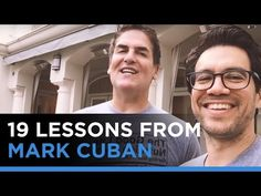Mark Cuban & Tai Lopez: 19 Lessons From Having A Billionaire Over At The House For 4 Hours - Tai Lopez Motivation For Today, Motivation Goals, Mark Cuban, Smart Men, Investment Companies, Future Trends, Business Video, Entrepreneur Inspiration, Shark Tank