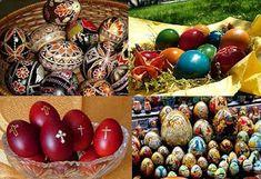 Oul de Paști este în tradiția românescă unul roșu, ce simbolizează sângele vărsat de Hristos pe cruce sau în decursul patimilor sale. Cele f... Spirit, Costume, Decor, Decoration, Costumes, Decorating, Fancy Dress, Costume Dress, Deco