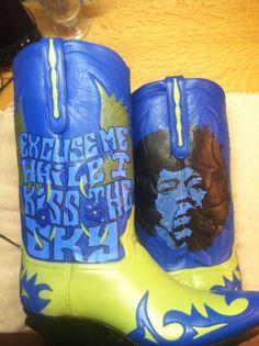 Hendrix boots, Liberty Boot Co.