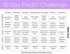 Day Paleo Challenge Paleo Meal Plan for week one! This is a great menu plan for anyone starting Paleo or even just looking to change things up a bit!Paleo-Balkans Paleo-Balkans refers to: Menu Paleo, Paleo Autoinmune, Paleo Meal Prep, Paleo Diet Plan, Paleo Dinner, Paleo Meals, Diet Plans, What Is Paleo Diet, Paleo Food List