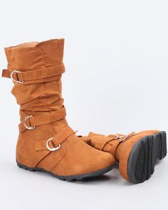 Cute fashionable boots for girls