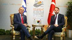 """Berat Albayrak, İsrailli mevkidaşı ile görüştü  """"Berat Albayrak, İsrailli mevkidaşı ile görüştü"""" http://fmedya.com/berat-albayrak-israilli-mevkidasi-ile-gorustu-h50511.html"""