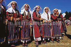 Traditional Pomak (Muslim Slavs) folk costumes - Rodopi Mountains © Julian Angelov http://julianangelov.com/en/introduction-en