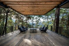 Family House Under the Trees - Irekua Anatani House Steel House, Forest House, Cheap Home Decor, My Dream Home, Home Art, Beautiful Homes, Architecture Design, Outdoor Living, Home Remodeling