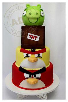 Arte da Ka Angry Birds cake