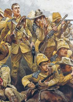 Second Boer War Overview Part 1 - The Second Boer War was one of Britain's man. Military Art, Military History, Independence War, British Uniforms, Ww2 Posters, British Colonial, African History, British Army, First World