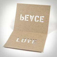 Peace + Love Cards – Ace Hotel Shop