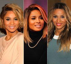 Ciara's hair