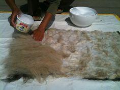 Soul Flower Farm: Wet Felting With Raw Wool