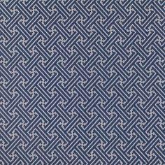 CR Laine Fabric: Meandor Navy