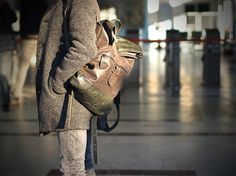 Handmade Leather Backpack Mens Leather Backpack Men by CutDesign