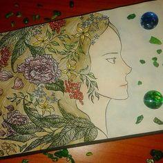 #instaart #art #watercolors #ink #pen #stunning #aartistic_dreamers #fun #sketch #sketchbook #instaflowers #instagood #flowerstagram #fantasy #colorful #flowers #nature #spring #ladyspring #girl #beauty #beautiful