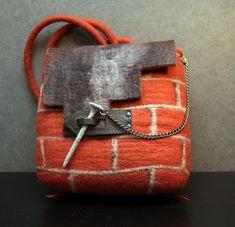 мокрое валяние, сумка ручной работы, мастер-класс по валянию, свалять сумку, рюкзак, рюкзак ручной работы
